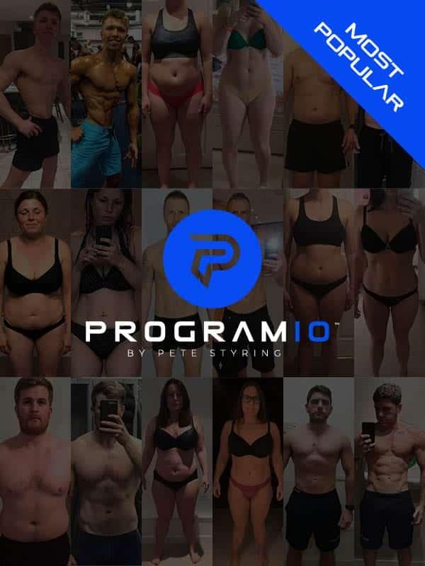 Program 10 body transformation package